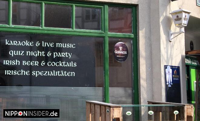 Karaoke in Wolfenbüttel. Schild vom Irish Pub | Nipponinsider