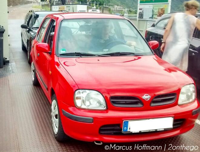 Meine Leidenschaft für japanische Fahrzeuge. Gastartikel von Marcus. Bild von seinem roten Nissan Micra