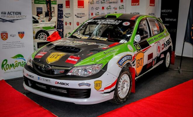 Subaru Impreza für den Motorsport