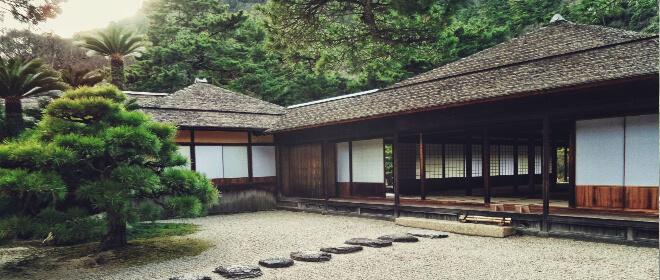 Bucketliste für Japan: ein japanisches Kloster