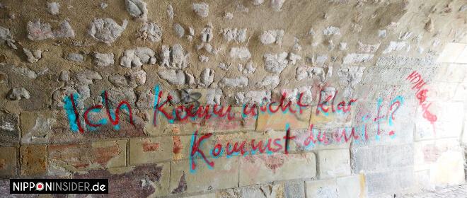 Graffiti in Erfurt: Ich komme nicht klar, kommste mit?