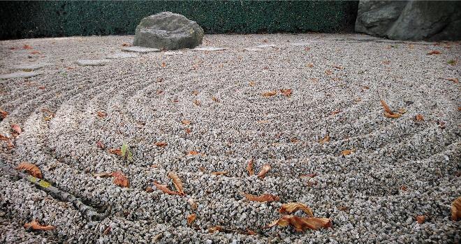 Zen Steingarten im japanischen Garten von Bad Langensalza | Nipponinsider